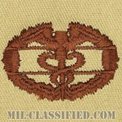 戦闘医療章 (ファースト)(Combat Medical Badge (CMB), First Award)[デザート/パッチ]の画像