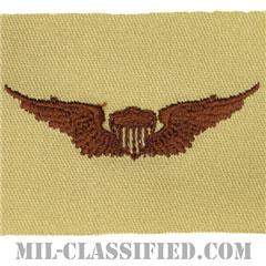 飛行士章 (ベーシック・パイロット)(Army Aviator (Pilot), Basic)[デザート/パッチ]の画像