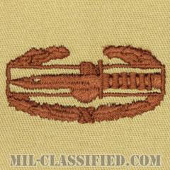 戦闘行動章(Combat Action Badge (CAB))[デザート/パッチ]の画像