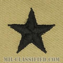 准将(Brigadier General (BG))[デザート/階級章/パッチ/ペア(2枚1組)]の画像