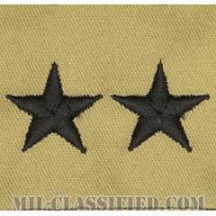 少将(Major General (MG))[デザート/階級章/パッチ/ペア(2枚1組)]の画像