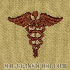 衛生科章(Medical Corps)[デザート/兵科章/パッチ/ペア(2枚1組)]の画像