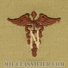 看護科章(Army Nurse Corps)[デザート/兵科章/パッチ/ペア(2枚1組)]の画像