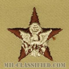 一般幕僚科章(General Staff)[デザート/兵科章/パッチ/ペア(2枚1組)]の画像