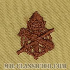 民生科章(Civil Affairs Corps)[デザート/兵科章/パッチ/ペア(2枚1組)]の画像