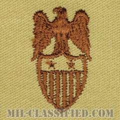 少将補佐官(Aide to the Major General)[デザート/兵科章/パッチ/ペア(2枚1組)]の画像