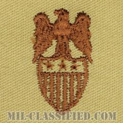 中将補佐官(Aide to the Lieutenant General)[デザート/兵科章/パッチ/ペア(2枚1組)]の画像