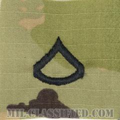 上等兵(Private First Class (PFC))[OCP/階級章/キャップ用縫い付けパッチ]の画像