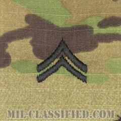 伍長(Corporal (CPL))[OCP/階級章/キャップ用縫い付けパッチ]の画像