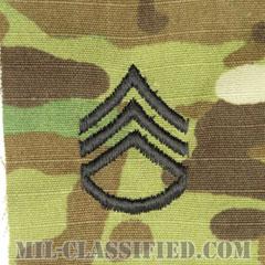 二等軍曹(Staff Sergeant (SSG))[OCP/階級章/キャップ用縫い付けパッチ]の画像