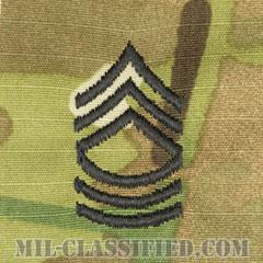 曹長(Master Sergeant (MSG))[OCP/階級章/キャップ用縫い付けパッチ]の画像