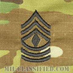 先任曹長(First Sergeant (1SG))[OCP/階級章/キャップ用縫い付けパッチ]の画像