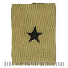 准将(Brigadier General (BG))[デザート/ゴアテックスパーカー用スライドオン階級章]の画像
