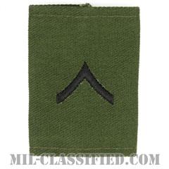 一等兵(Private Second Class (PV2))[サブデュード/ゴアテックスパーカー用スライドオン階級章]の画像