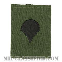 特技兵(Specialist (SPC))[サブデュード/ゴアテックスパーカー用スライドオン階級章]の画像