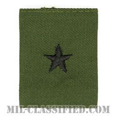 准将(Brigadier General (BG))[サブデュード/ゴアテックスパーカー用スライドオン階級章]の画像