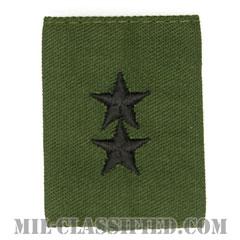 少将(Major General (MG))[サブデュード/ゴアテックスパーカー用スライドオン階級章]の画像