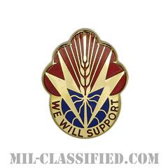 第100支援大隊(100th Support Battalion)[カラー/クレスト(Crest・DUI・DI)バッジ]の画像