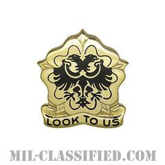 第413支援大隊(413th Support Battalion)[カラー/クレスト(Crest・DUI・DI)バッジ]の画像