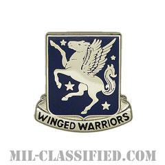第228航空連隊(228th Aviation Regiment)[カラー/クレスト(Crest・DUI・DI)バッジ]の画像