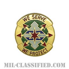 第33憲兵大隊(33rd Military Police Battalion)[カラー/クレスト(Crest・DUI・DI)バッジ]の画像