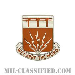 第35通信大隊(35th Signal Battalion)[カラー/クレスト(Crest・DUI・DI)バッジ]の画像