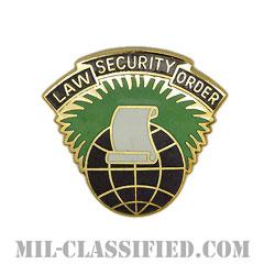 第360民事活動旅団(360th Civil Affairs Brigade)[カラー/クレスト(Crest・DUI・DI)バッジ]の画像