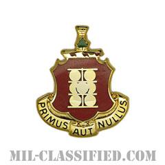 第1野戦砲兵連隊(1st Field Artillery Regiment)[カラー/クレスト(Crest・DUI・DI)バッジ]の画像