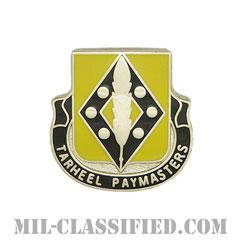 第130財務大隊(130th Finance Battalion)[カラー/クレスト(Crest・DUI・DI)バッジ]の画像