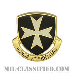 第65歩兵連隊(65th Infantry Regiment)[カラー/クレスト(Crest・DUI・DI)バッジ]の画像