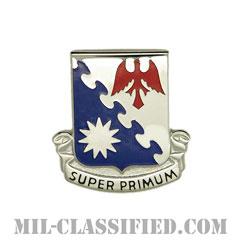 第1航空連隊(1st Aviation Regiment)[カラー/クレスト(Crest・DUI・DI)バッジ]の画像