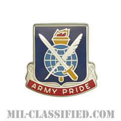 第369総務大隊(369th Adjutant General Battalion)[カラー/クレスト(Crest・DUI・DI)バッジ]の画像