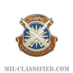 第106通信旅団(106th Signal Brigade)[カラー/クレスト(Crest・DUI・DI)バッジ]の画像