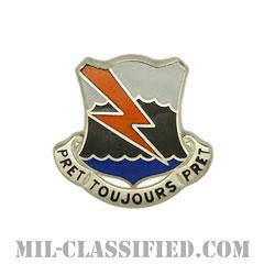 第304通信大隊(304th Signal Battalion)[カラー/クレスト(Crest・DUI・DI)バッジ]の画像