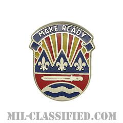 第75歩兵師団(75th Infantry Division)[カラー/クレスト(Crest・DUI・DI)バッジ]の画像
