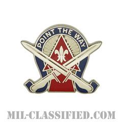 第76歩兵旅団戦闘団(76th Infantry Brigade Combat Team)[カラー/クレスト(Crest・DUI・DI)バッジ]の画像