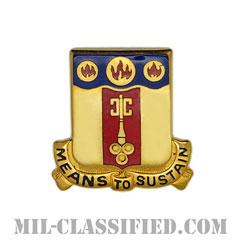 第35戦務支援大隊(35th Combat Sustainment Support Battalion)[カラー/クレスト(Crest・DUI・DI)バッジ]の画像