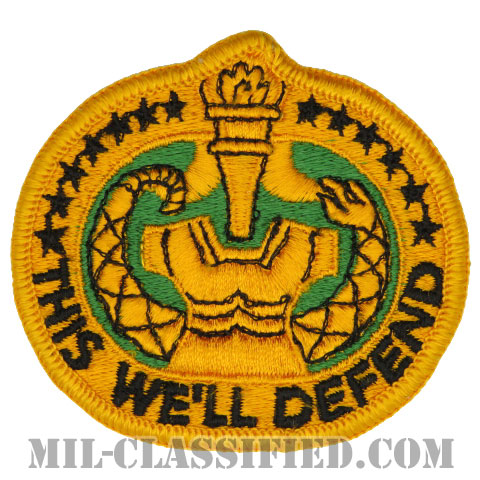 教育係軍曹識別章(Drill Sergeant Identification Badge)[カラー/メロウエッジ/パッチ]の画像