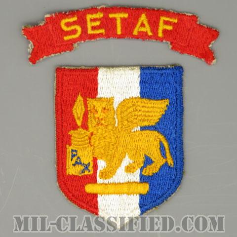 南ヨーロッパタスクフォース(Southern European Task Force)[カラー/カットエッジ/パッチ/SETAFタブ付/中古1点物]の画像