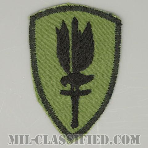 第1航空旅団(1st Aviation Brigade)[サブデュード/カットエッジ/パッチ/手刺繍ローカルメイド/1点物]の画像