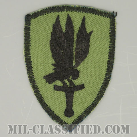 第1航空旅団(リバース)(1st Aviation Brigade (Reverse))[サブデュード/カットエッジ/パッチ/手刺繍ローカルメイド/1点物]の画像
