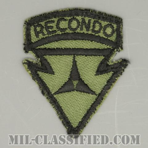 第3軍団リコンドースクール(3rd Corps Recondo School)[サブデュード/カットエッジ/パッチ/中古1点物]の画像