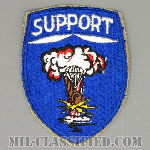第82空挺師団支援コマンド(82nd Airborne Division Support Command)[カラー/カットエッジ/パッチ/1点物]の画像