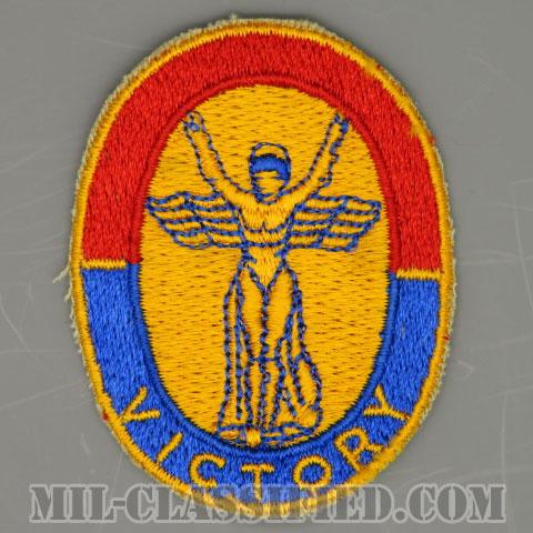 第1歩兵師団本部(Headquarters, 1st Infantry Division)[カラー/カットエッジ/パッチ/1点物]の画像