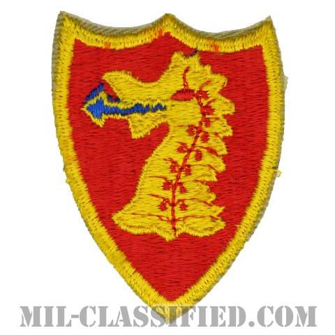 第114野戦砲兵連隊(114th Field Artillery Regiment)[カラー/カットエッジ/パッチ/1点物]の画像