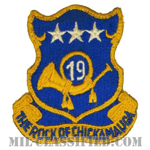 第19歩兵連隊(19th Infantry Regiment)[カラー/カットエッジ/パッチ/中古1点物]の画像