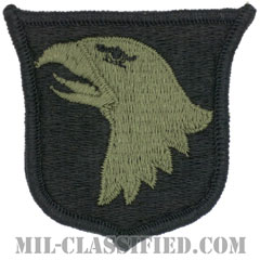 第101空挺師団(101st Airborne Division)[サブデュード/メロウエッジ/パッチ]画像