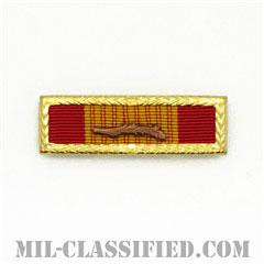 RVN Gallantry Cross Unit Citation [リボン(略綬・略章・Ribbon)/スモールフレーム・パームデバイス付/陸軍以外用部隊表彰(Unit Award)]の画像
