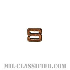 """文字S (ブロンズ)(Letter """"S"""", Bronze)[リボン用デバイス(Attachment Device)]の画像"""