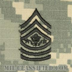 陸軍最先任上級曹長(Sergeant Major of the Army (SMA))[UCP(ACU)/階級章/キャップ用縫い付けパッチ]の画像